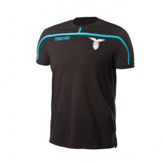 Camiseta  Macron Lazio 2018-2019 Black-Light blue