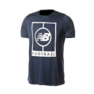 Camiseta  New Balance Graphic Elite Tech m/c Black