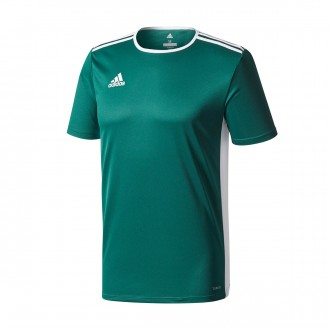 Jersey  adidas Entrada 18 m/c Core green-White