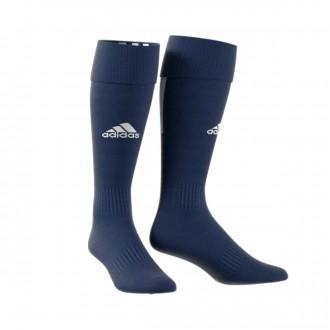 Medias  adidas Santos 18 Dark blue-White