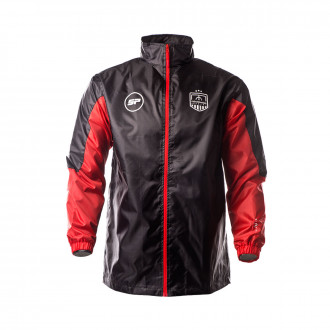 Raincoat FE Academy Black-Red