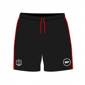 Shorts FE Academy Black-Red