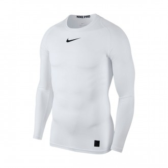 Jersey  Nike Pro Top White-Black