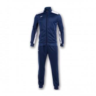 Tracksuit  Joma Academy Navy blue-White