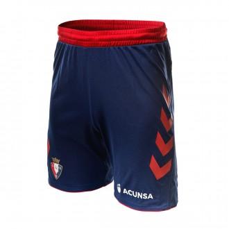 Shorts  Hummel CA Osasuna Primera Equipación 2018-2019 Marine