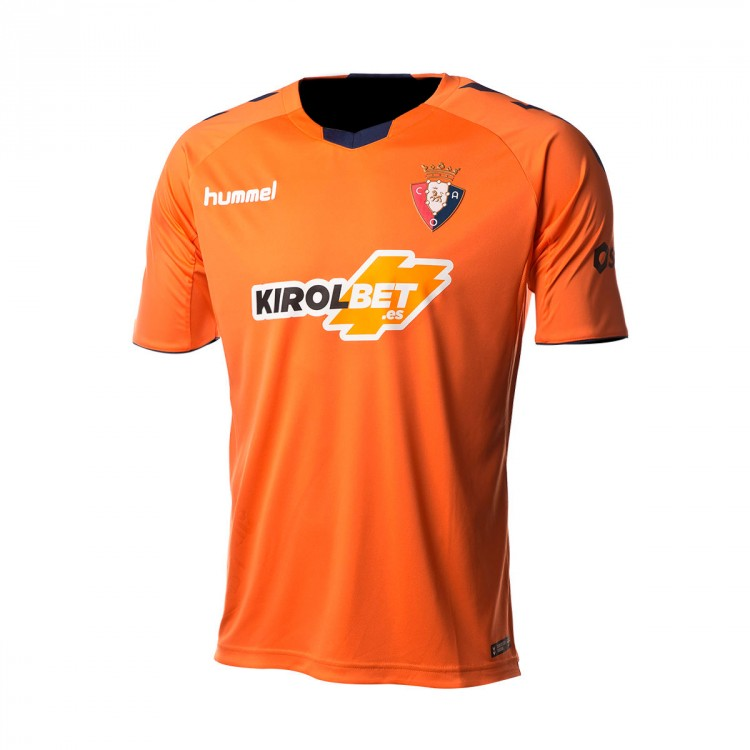 Camiseta Hummel CA Osasuna Segunda Equipación 2018-2019 Orange ... ef7c975e1ad6c