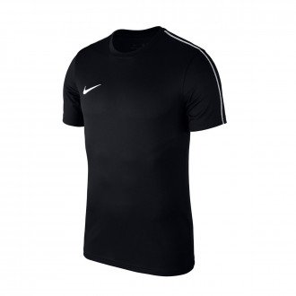 Maillot  Nike Park 18 Training m/c Niño Black-White