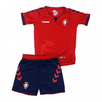 Kit  Hummel CA Osasuna 2018-2019 Home Red-Marine