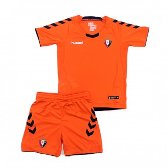 Kit  Hummel Kids CA Osasuna 2018-2019 Away Orange