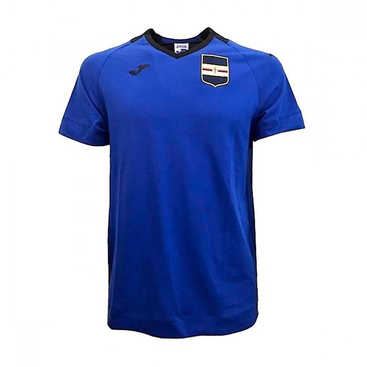 56803ec291 Camiseta Joma UC Sampdoria Paseo 2018-2019 Royal - Soloporteros es ahora  Fútbol Emotion