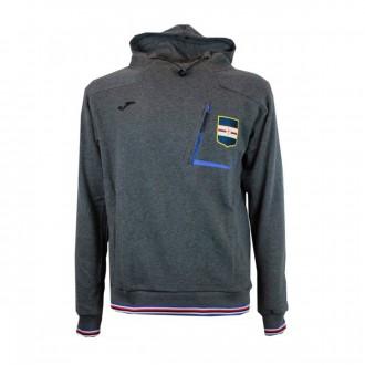 Sweatshirt  Joma UC Sampdoria  2018-2019 Cinza