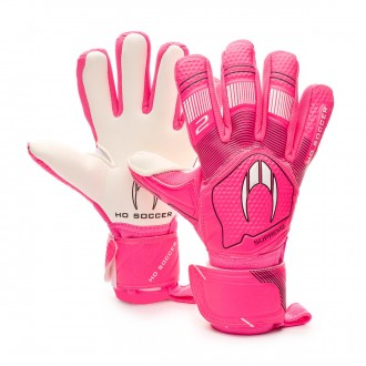 Glove  HO Soccer Clone Supremo II Negative Flash pink