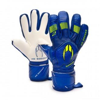 Luvas  HO Soccer Clone Supremo II Negative Storm blue