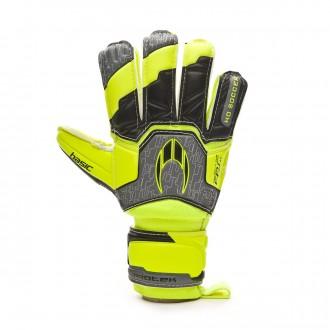 Guante  HO Soccer Basic Protek Flat Power Lime