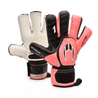 Guante  HO Soccer One Kontakt Evolution Warning Pink-Black