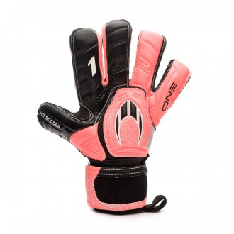 Guante  HO Soccer One Kontakt Evolution Warning Pink-Black