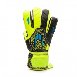 Guante  HO Soccer One Flat Turf Power lime