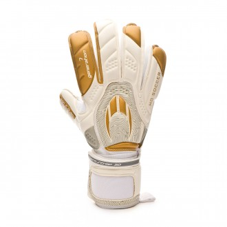 Glove  HO Soccer Pro Curved GEN7 White-Golden