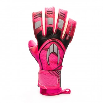 Guante  HO Soccer Supremo Pro II Roll/Negative Flash pink