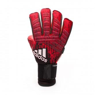 Glove adidas Predator Pro Fingersave Active red-Black-Solar red