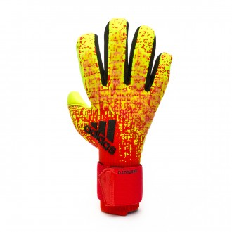 Guante  adidas Predator Pro CW Solar yellow-Active red-Black