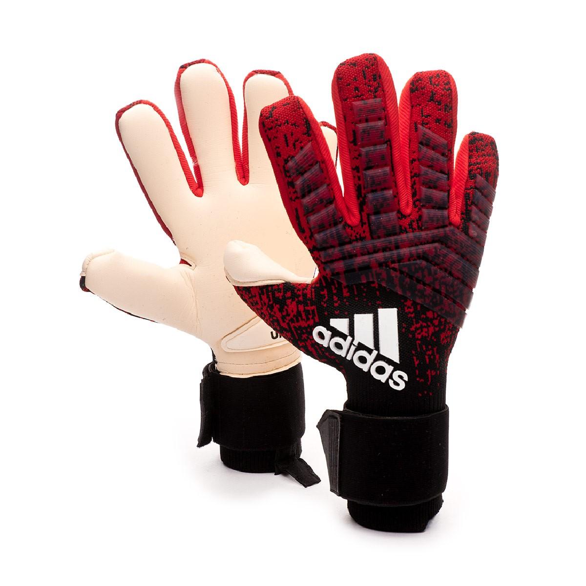 Chelín clon Incontable  Guante de portero adidas Predator Pro PC Active red-Black-Solar red -  Tienda de fútbol Fútbol Emotion