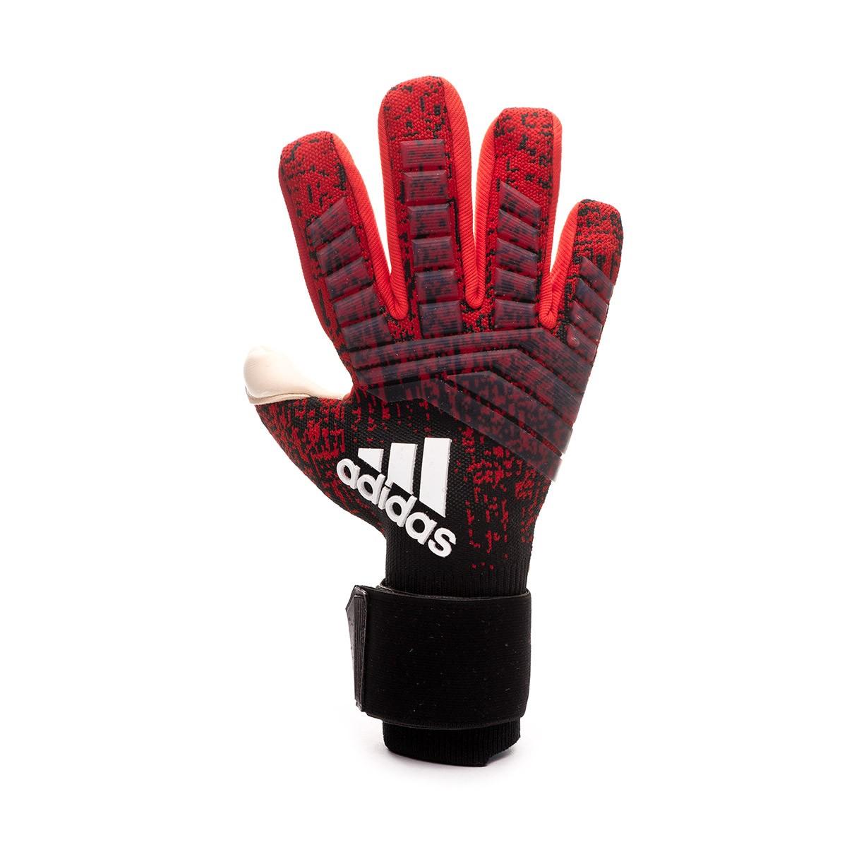 Enriquecimiento estoy feliz Muy lejos  Guante de portero adidas Predator Pro PC Active red-Black-Solar red -  Tienda de fútbol Fútbol Emotion