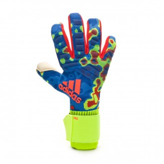 Guante  adidas Predator Pro MN Solar yellow-Football blue-Active red