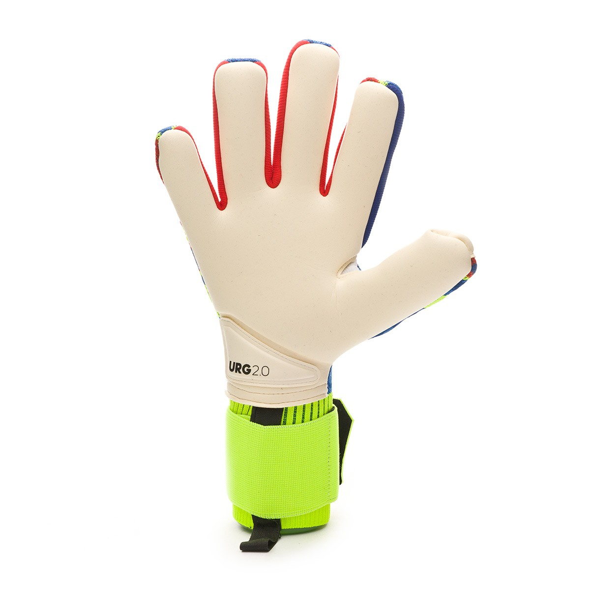 sale retailer 499ff 9aaad Glove adidas Predator Pro MN Solar yellow-Football blue-Active red -  Football store Fútbol Emotion