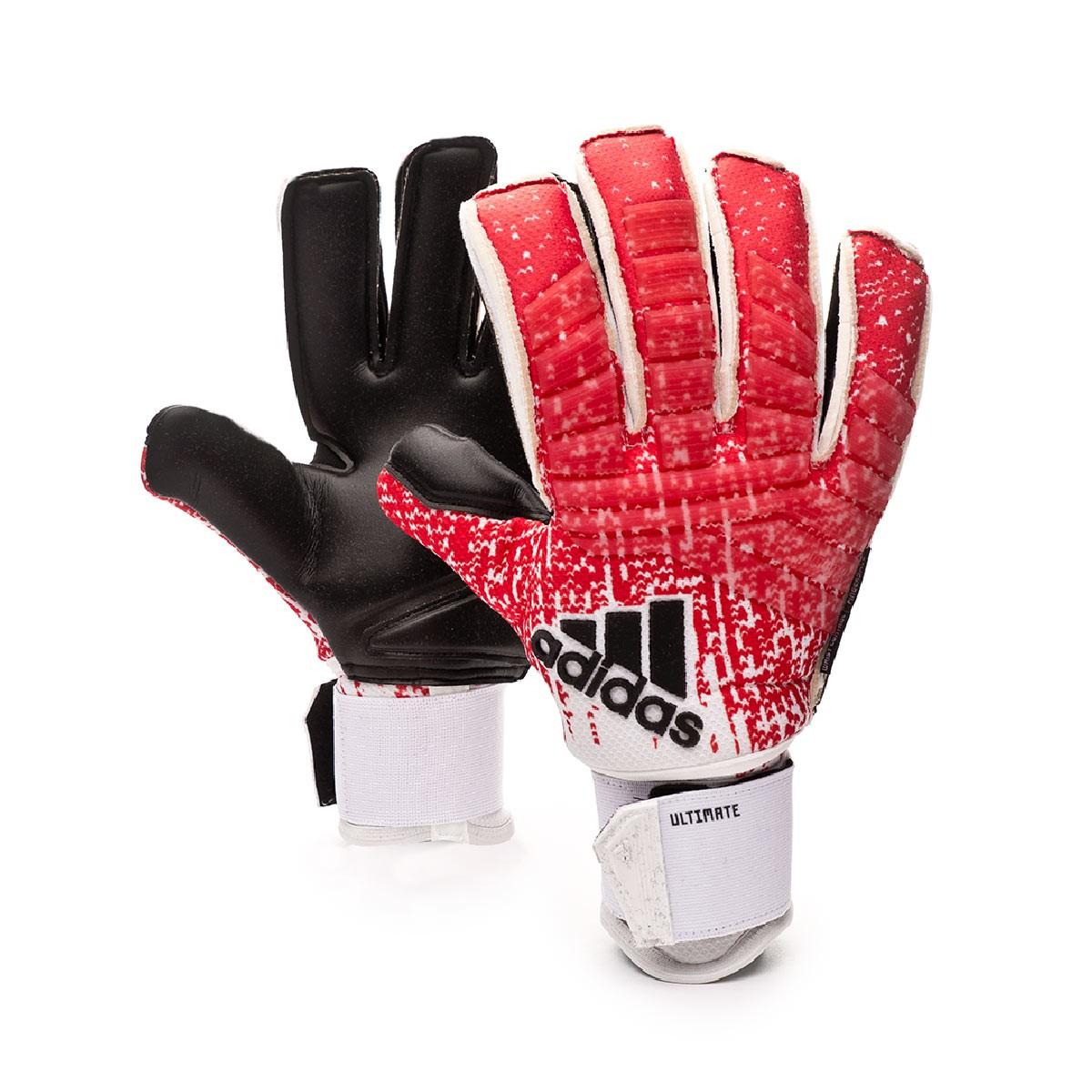ganado Descomponer guión  Guante de portero adidas Predator Ultimate Active red-White-Black - Tienda  de fútbol Fútbol Emotion