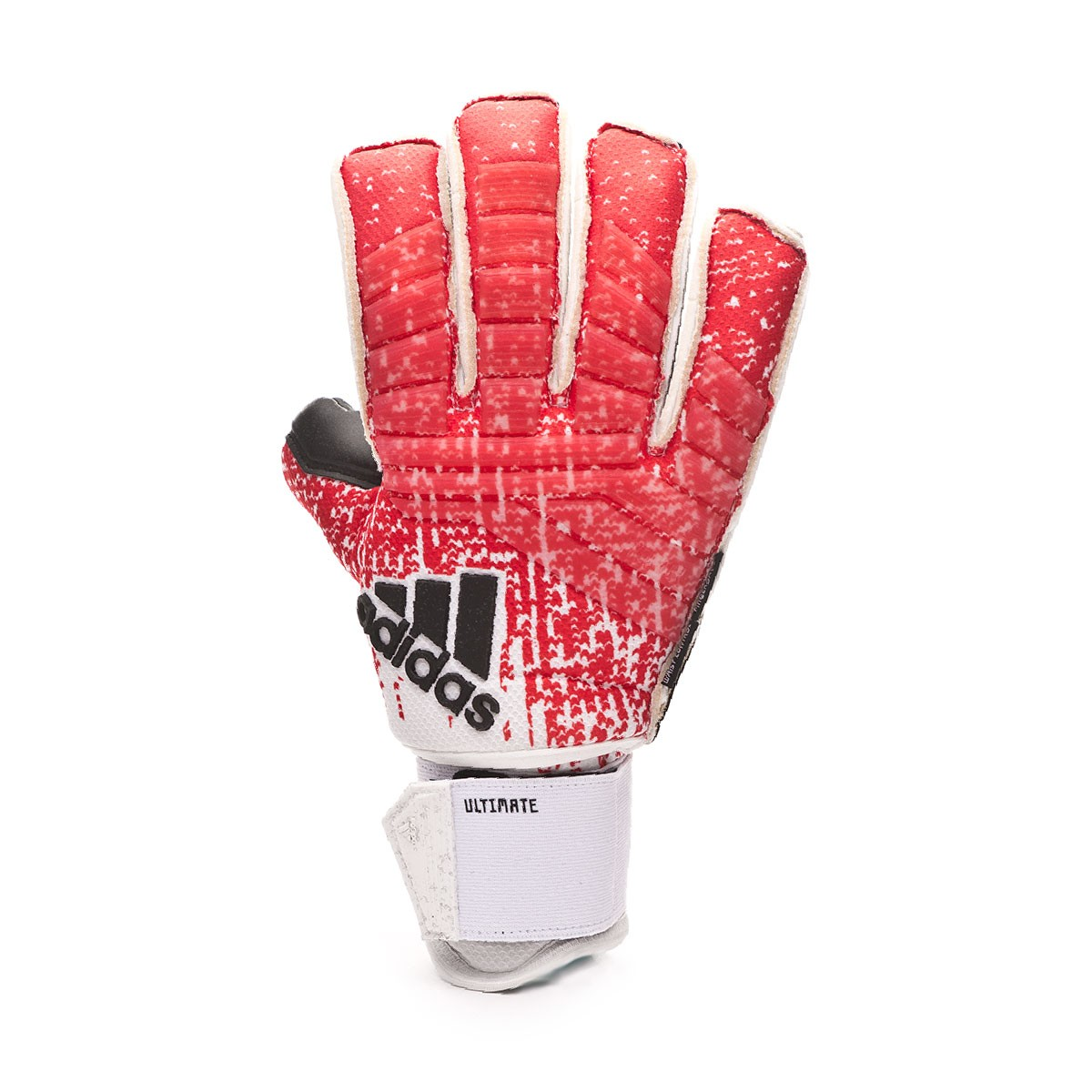 ADIDAS PREDATOR ULTIMATE FINGERSAVE ACTIVE REDWHITE (FINGER & WRIST PROTECTION)