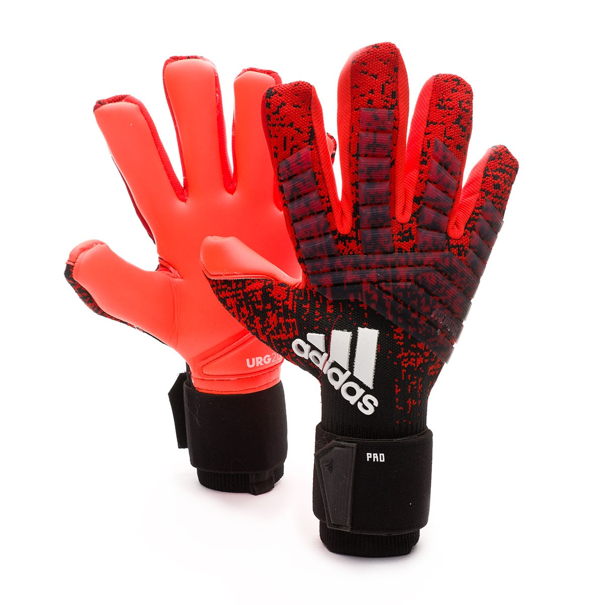 5a4defff615 Glove adidas Predator Pro Active red-Black-Solar red - Football ...
