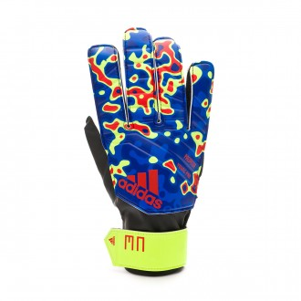 Guante  adidas Predator YP MN Solar yellow-Football blue-Active red
