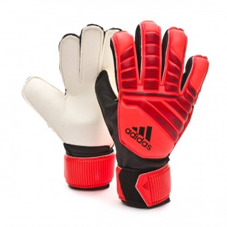 Glove  adidas Kids Predator Training Fingersave  Active red-Solar red-Black