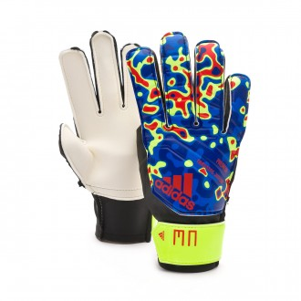 Glove  adidas Predator MN Niño Solar yellow-Football blue-Active red
