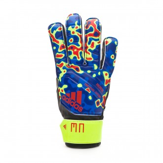 Guante  adidas Predator MN Niño Solar yellow-Football blue-Active red
