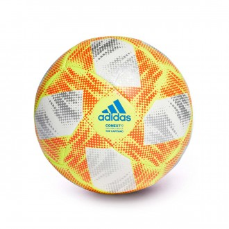 Ball  adidas Conext 19 Capitano White-Solar yellow-Solar red-Football blue
