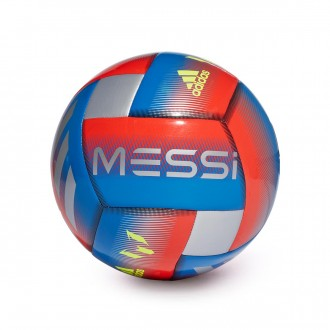 Balón  adidas Messi Capitano Football blue-Active red-Silver metallic