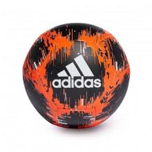 Balón Capitano Black-Solar red-Off white