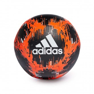 Ball  adidas Capitano Black-Solar red-Off white