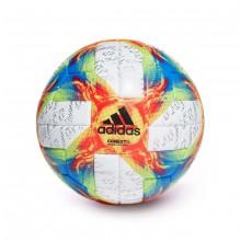 Balón Conext 19 OMB White-Solar yellow-Solar red-Football blue