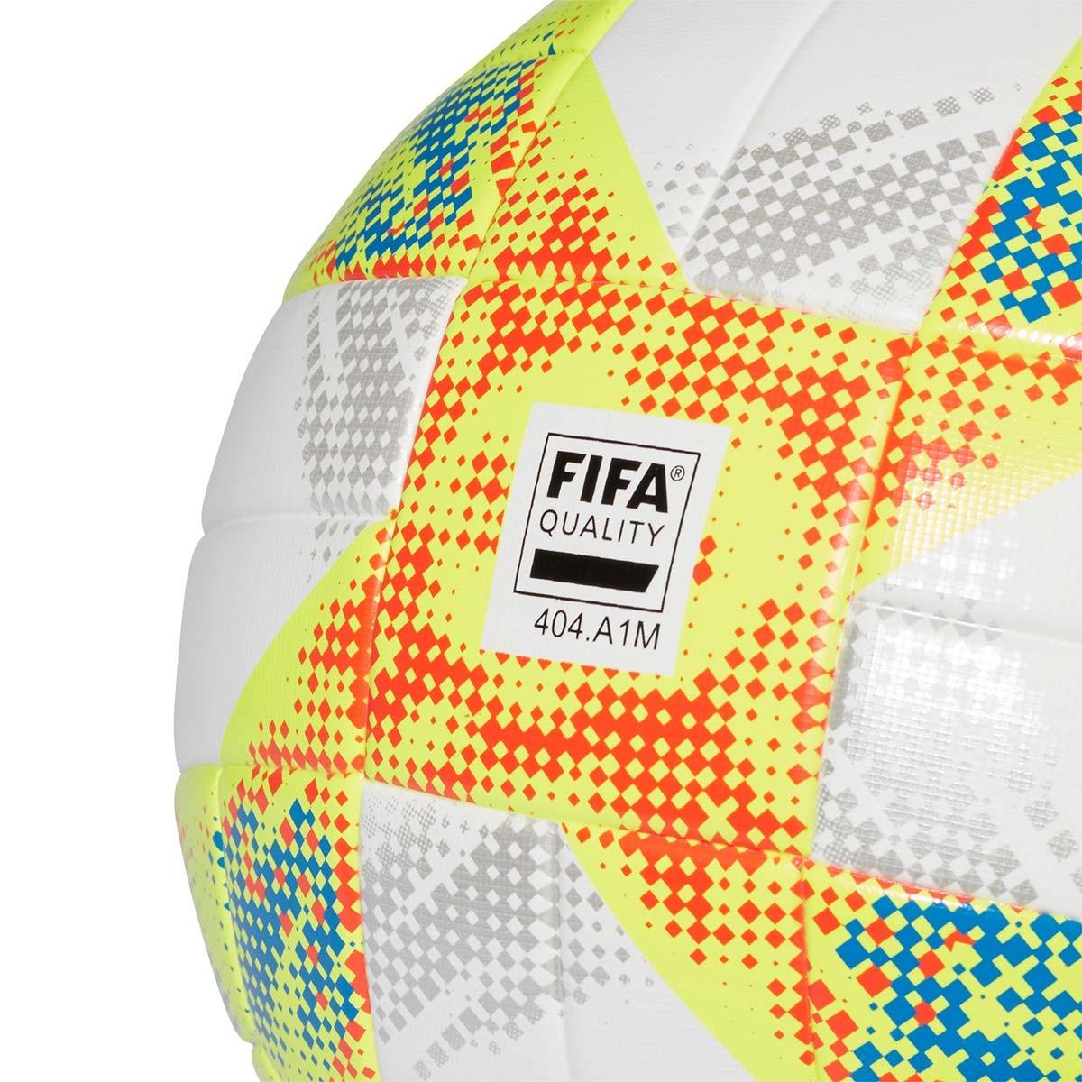 2abe9cdd35956 Balón adidas Conext 19 Training White-Solar yellow-Solar red-Football blue  - Tienda de fútbol Fútbol Emotion