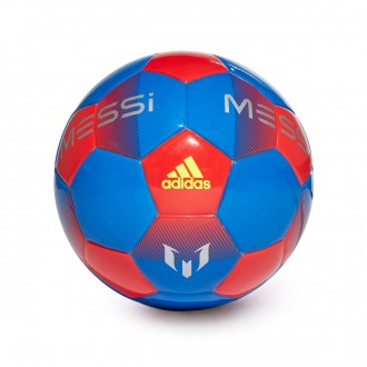 Ball  adidas Mini Messi Football blue-Active red-Silver metallic-Sola