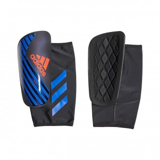 Espinillera  adidas X Pro Black-Bold blue-Active red