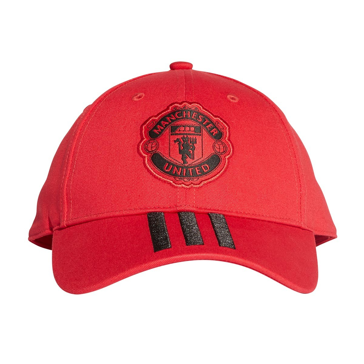 Cap adidas Manchester United FC 2018-2019 Real red-Black - Leaked soccer c97a99129a16