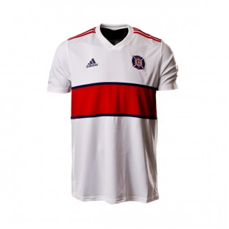 Playera  adidas Chicago Fire Segunda Equipación 2018-2019 White