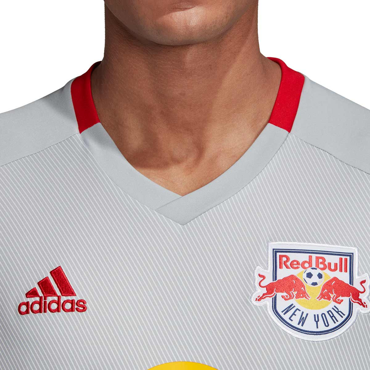 0fbcee99797 Jersey adidas Red Bull NY 2018-2019 Home Clear onix - Football store Fútbol  Emotion