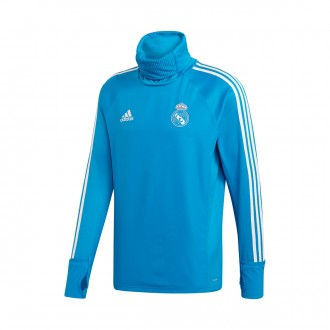 Sweatshirt  adidas Real Madrid Warm 2018-2019 Craft blue-Core white