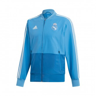 Jacket  adidas Real Madrid Prematch 2018-2019 Craft blue-Dark royal-Core white