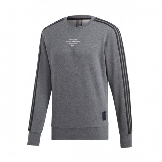 Sweatshirt  adidas Real Madrid SSP CR SWT 2018-2019 Dark grey heather-Black